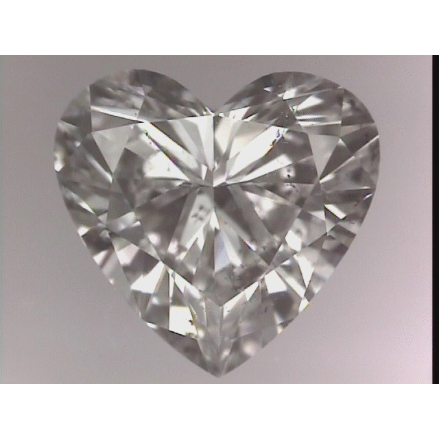 0.99 Carat Heart Loose Diamond, E, SI2, Excellent, GIA Certified