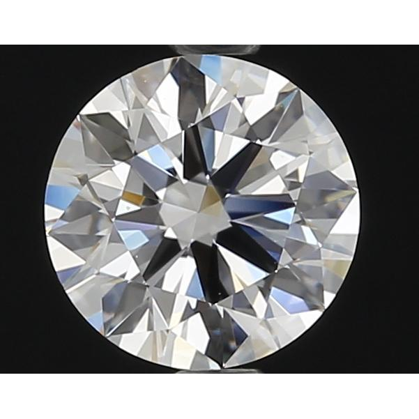 1.01 Carat Round Loose Diamond, D, IF, Super Ideal, GIA Certified