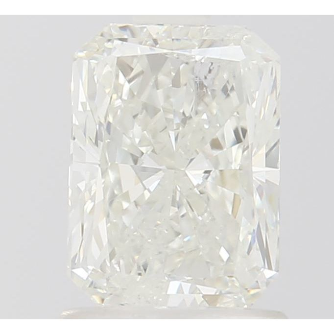 1.24 Carat Radiant Loose Diamond, L, I2, Excellent, GIA Certified