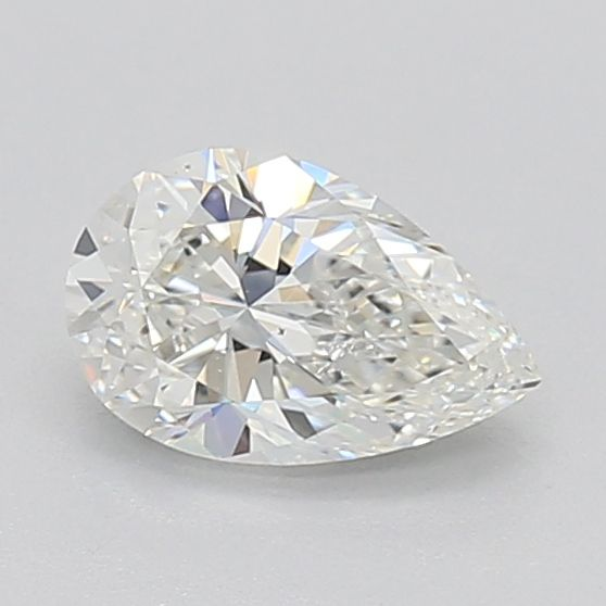 0.70 Carat Pear Loose Diamond, H, SI1, Excellent, GIA Certified