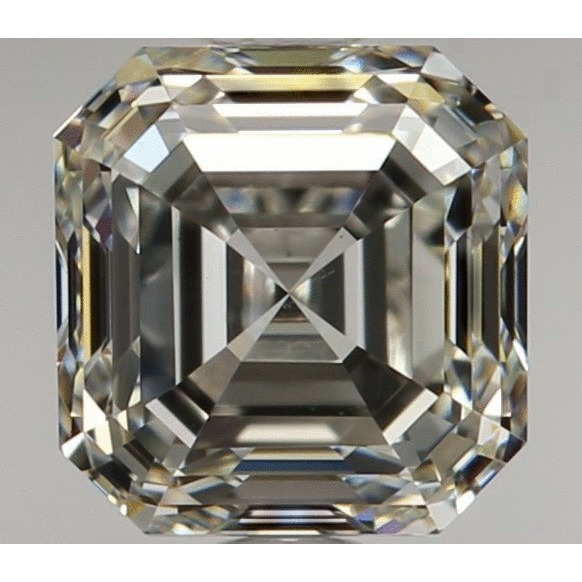 1.20 Carat Asscher Loose Diamond, I, VS2, Ideal, GIA Certified