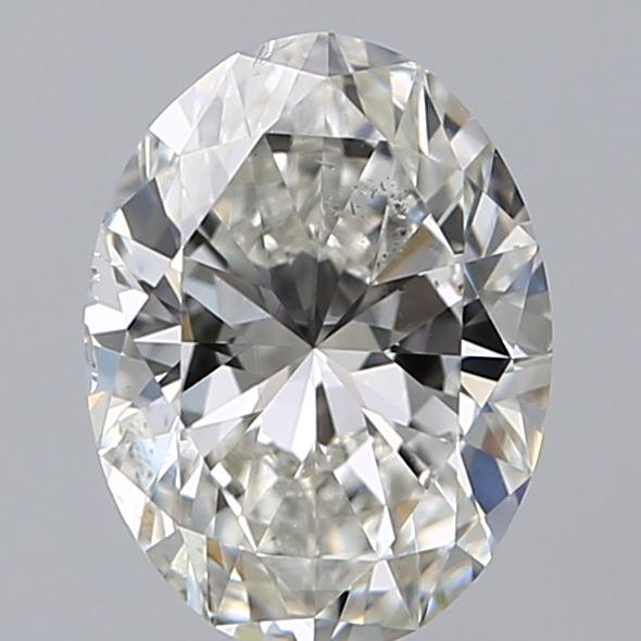 1.20 Carat Oval Loose Diamond, H, SI1, Super Ideal, GIA Certified