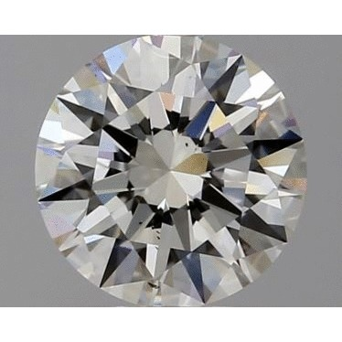 1.00 Carat Round Loose Diamond, H, SI1, Super Ideal, GIA Certified