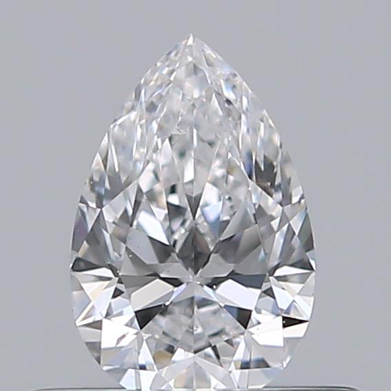0.30 Carat Pear Loose Diamond, D, SI1, Super Ideal, GIA Certified