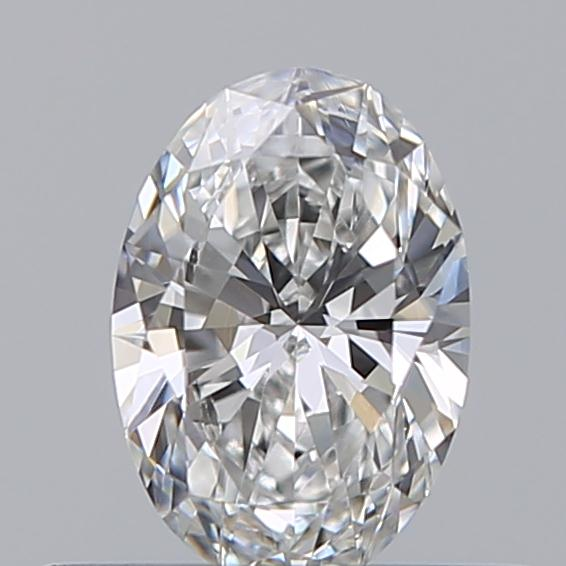 0.31 Carat Oval Loose Diamond, E, VVS2, Ideal, GIA Certified