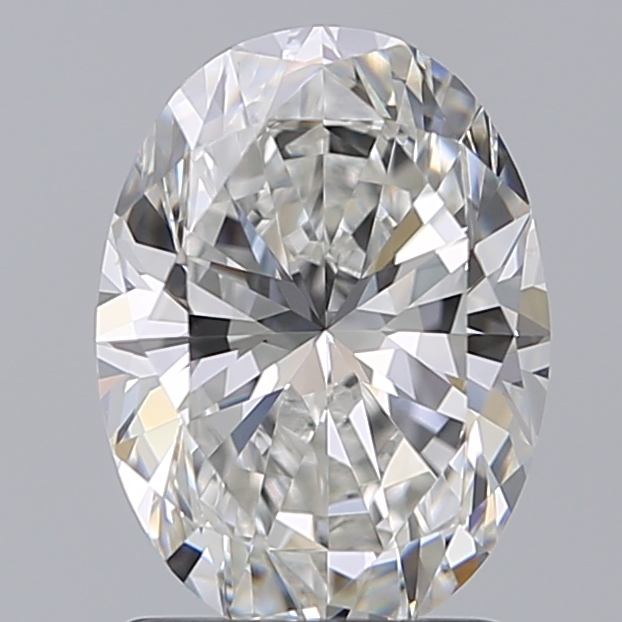 1.60 Carat Oval Loose Diamond, F, VS2, Super Ideal, GIA Certified