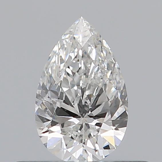 0.32 Carat Pear Loose Diamond, F, SI2, Super Ideal, GIA Certified | Thumbnail