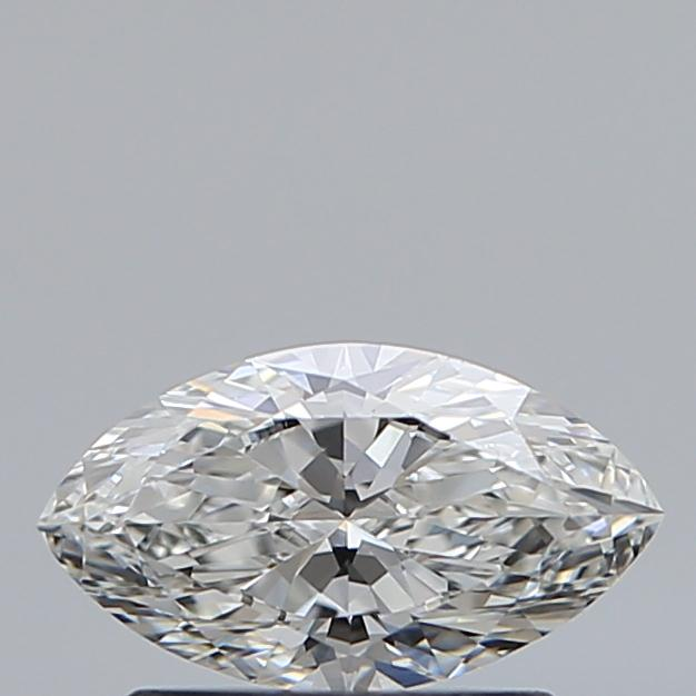 0.59 Carat Marquise Loose Diamond, G, VVS1, Ideal, GIA Certified