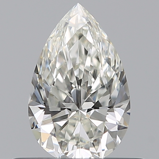 0.42 Carat Pear Loose Diamond, H, VS1, Super Ideal, GIA Certified