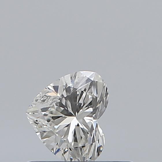 0.30 Carat Heart Loose Diamond, I, VS1, Ideal, GIA Certified | Thumbnail