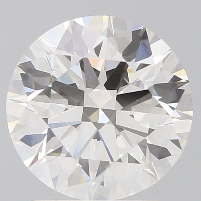 1.61 Carat Round Loose Diamond, J, VVS2, Super Ideal, GIA Certified