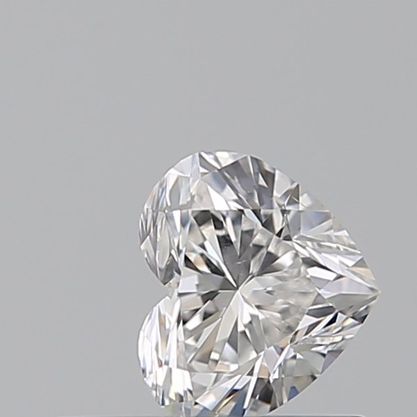 0.30 Carat Heart Loose Diamond, F, VS2, Super Ideal, GIA Certified | Thumbnail