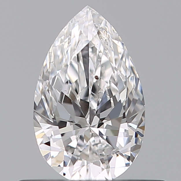 0.40 Carat Pear Loose Diamond, D, SI1, Ideal, GIA Certified