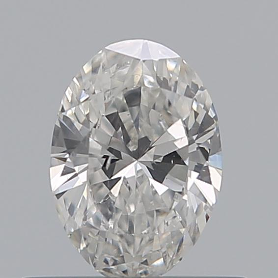 0.40 Carat Oval Loose Diamond, F, SI1, Ideal, GIA Certified