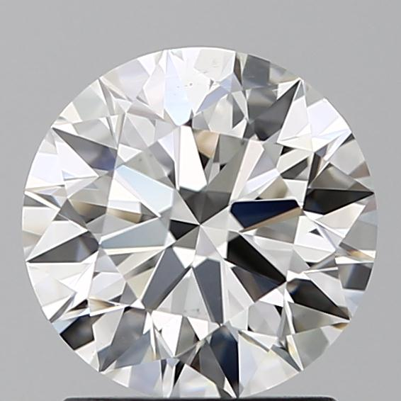 1.41 Carat Round Loose Diamond, H, VS2, Super Ideal, GIA Certified