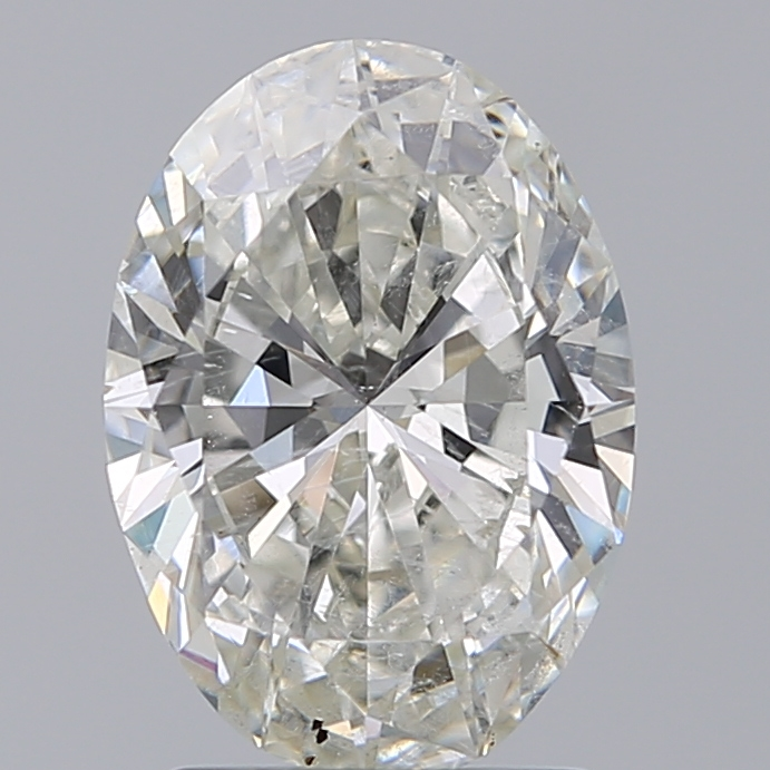 1.79 Carat Oval Loose Diamond, I, SI2, Super Ideal, GIA Certified