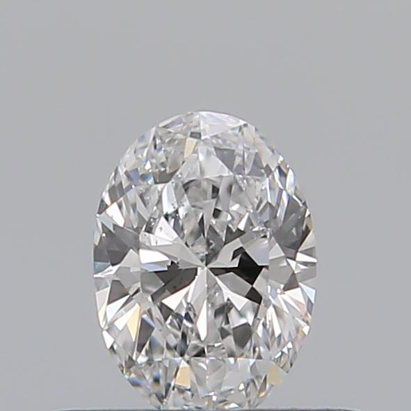 0.30 Carat Oval Loose Diamond, D, SI1, Ideal, GIA Certified
