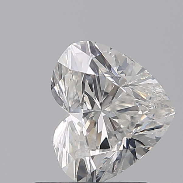 0.96 Carat Heart Loose Diamond, G, SI2, Ideal, GIA Certified