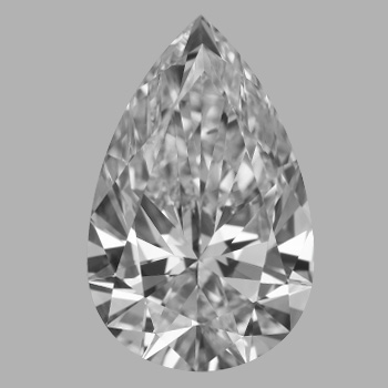 1.72 Carat Pear Loose Diamond, D, IF, Super Ideal, GIA Certified