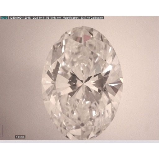 2.01 Carat Oval Loose Diamond, G, VS2, Super Ideal, GIA Certified