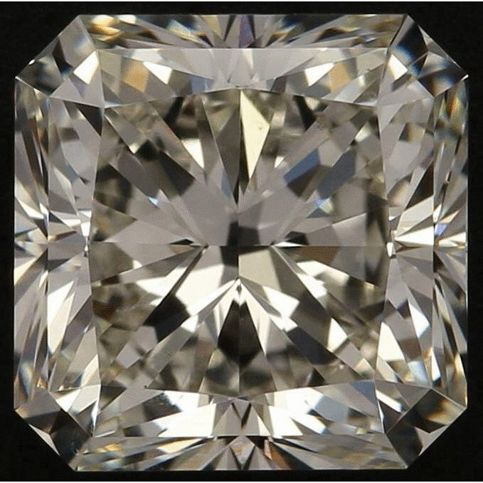 2.50 Carat Radiant Loose Diamond, K, VS2, Super Ideal, GIA Certified