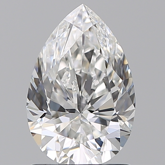 1.23 Carat Pear Loose Diamond, F, VVS1, Super Ideal, GIA Certified | Thumbnail