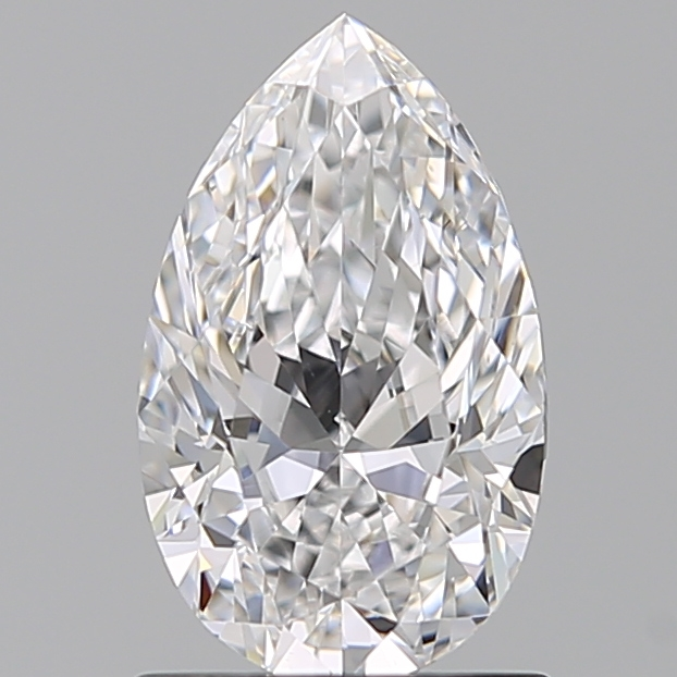 1.01 Carat Pear Loose Diamond, D, VS1, Excellent, GIA Certified