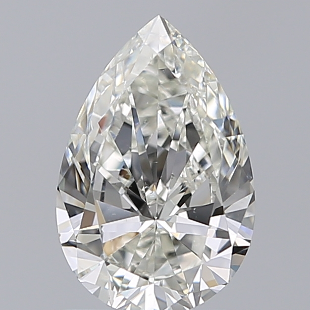 1.00 Carat Pear Loose Diamond, I, VS2, Excellent, GIA Certified