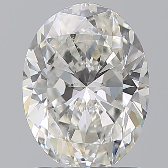 1.39 Carat Oval Loose Diamond, G, SI1, Super Ideal, GIA Certified | Thumbnail