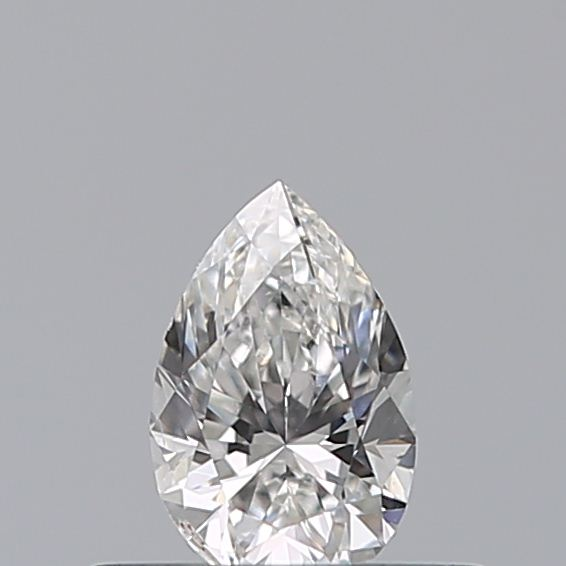 0.30 Carat Pear Loose Diamond, F, SI2, Excellent, GIA Certified