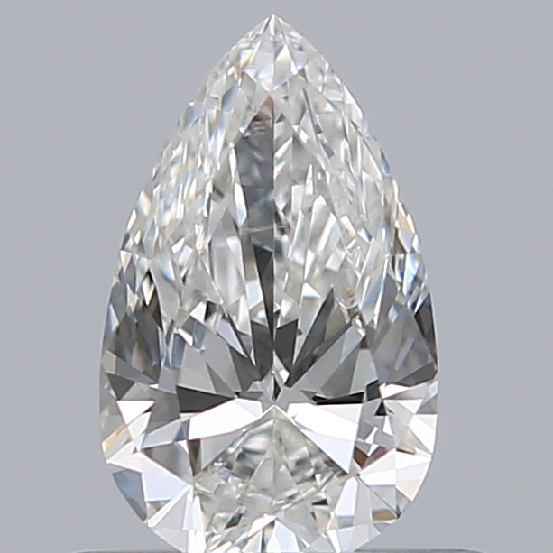 0.45 Carat Pear Loose Diamond, G, SI1, Super Ideal, GIA Certified