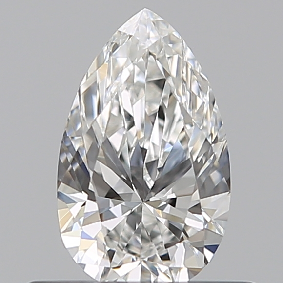 0.41 Carat Pear Loose Diamond, F, VS1, Super Ideal, GIA Certified | Thumbnail