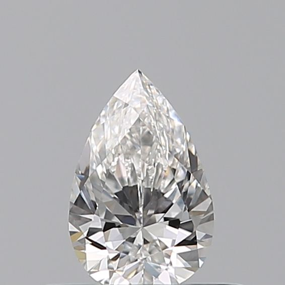 0.30 Carat Pear Loose Diamond, E, VVS1, Ideal, GIA Certified