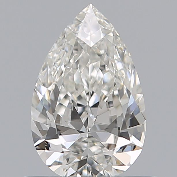 0.50 Carat Pear Loose Diamond, G, VVS1, Excellent, GIA Certified