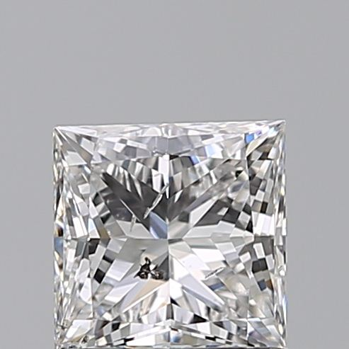 1.00 Carat Princess Loose Diamond, F, SI2, Ideal, GIA Certified