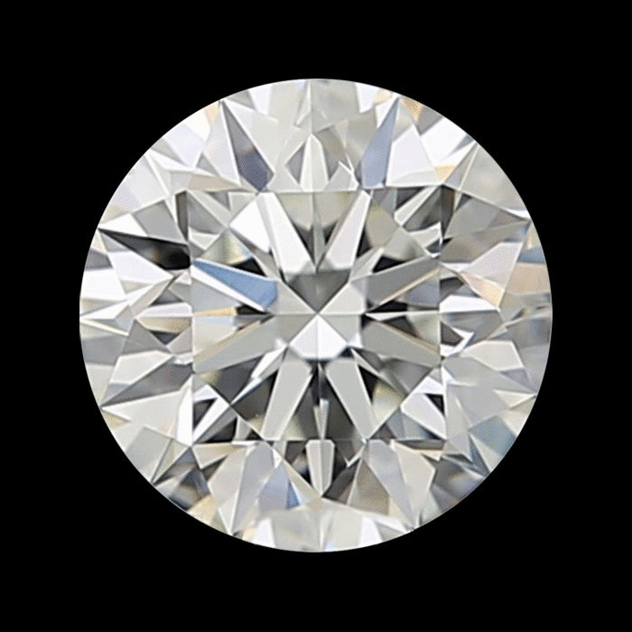 0.55 Carat Round Loose Diamond, I, SI1, Super Ideal, GIA Certified