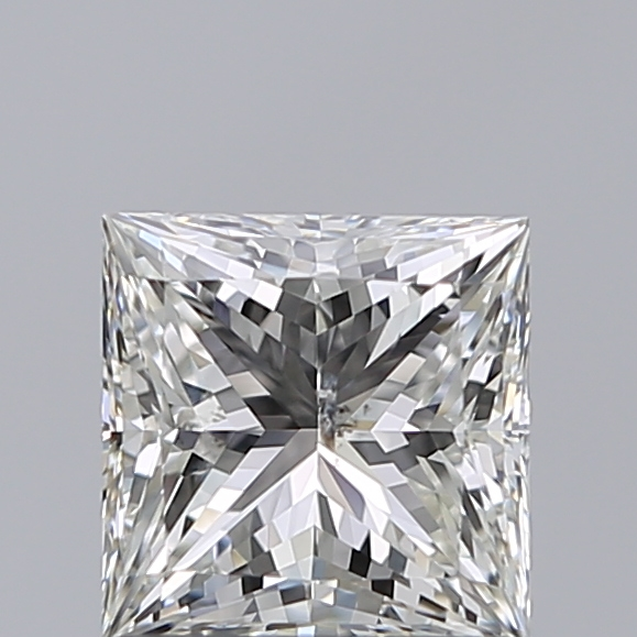 1.01 Carat Princess Loose Diamond, H, SI2, Super Ideal, GIA Certified