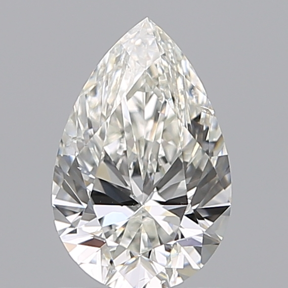 1.00 Carat Pear Loose Diamond, H, SI1, Super Ideal, GIA Certified