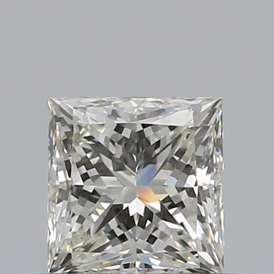 0.51 Carat Princess Loose Diamond, K, VVS1, Super Ideal, GIA Certified | Thumbnail