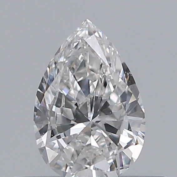 0.30 Carat Pear Loose Diamond, F, VS1, Very Good, GIA Certified