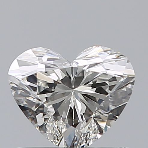 0.59 Carat Heart Loose Diamond, G, VVS2, Super Ideal, GIA Certified