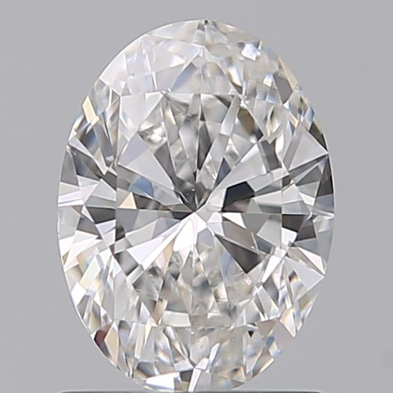 1.00 Carat Oval Loose Diamond, D, SI1, Super Ideal, GIA Certified