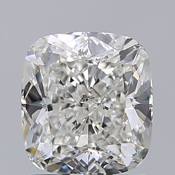 1.40 Carat Cushion Loose Diamond, H, SI1, Ideal, GIA Certified