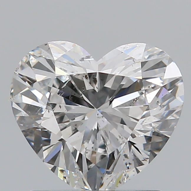 1.00 Carat Heart Loose Diamond, E, SI2, Super Ideal, GIA Certified
