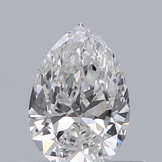 0.33 Carat Pear Loose Diamond, F, VS2, Excellent, GIA Certified