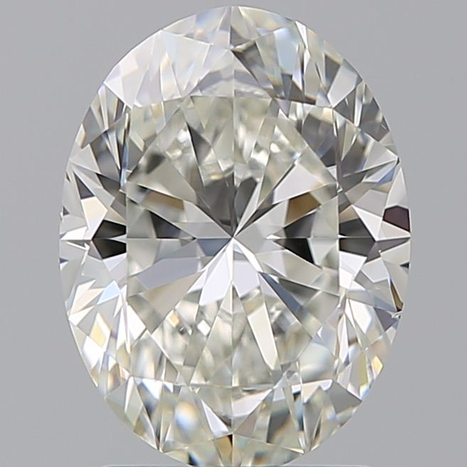 2.01 Carat Oval Loose Diamond, I, VS2, Super Ideal, GIA Certified | Thumbnail