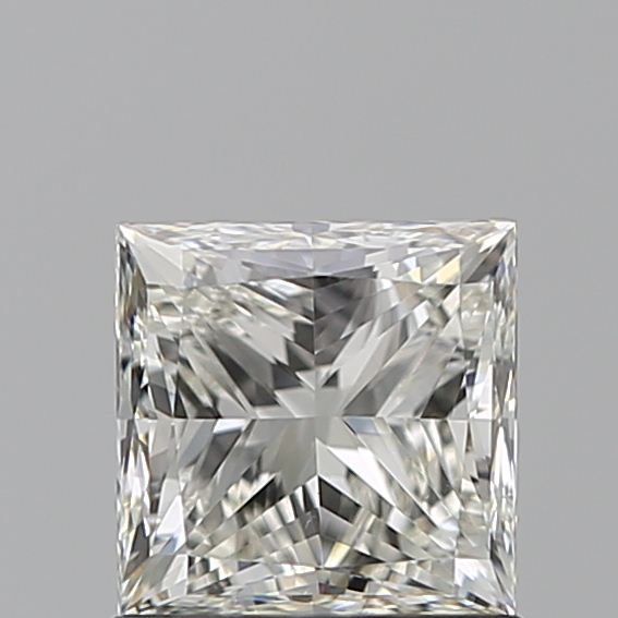 1.00 Carat Princess Loose Diamond, J, VVS2, Ideal, GIA Certified
