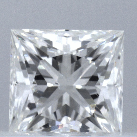 0.57 Carat Princess Loose Diamond, G, VS1, Excellent, GIA Certified