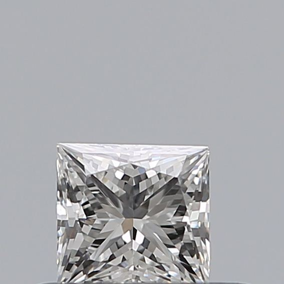 0.30 Carat Princess Loose Diamond, F, VS2, Excellent, GIA Certified