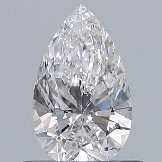 0.49 Carat Pear Loose Diamond, F, SI1, Excellent, GIA Certified